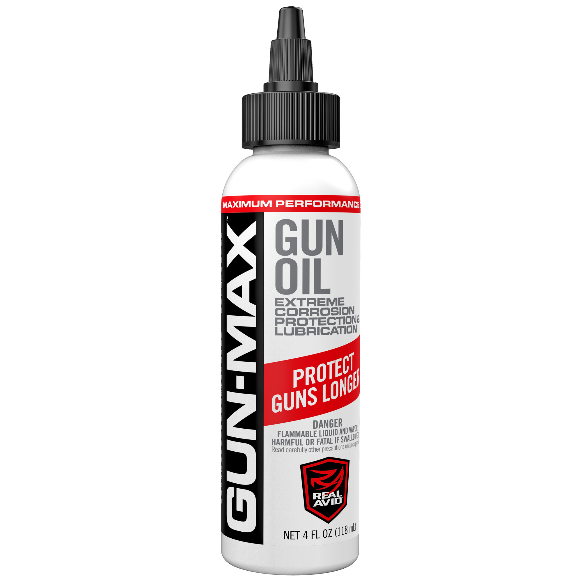 Real Avid Gun Max Gun Oil 4oz 12pk