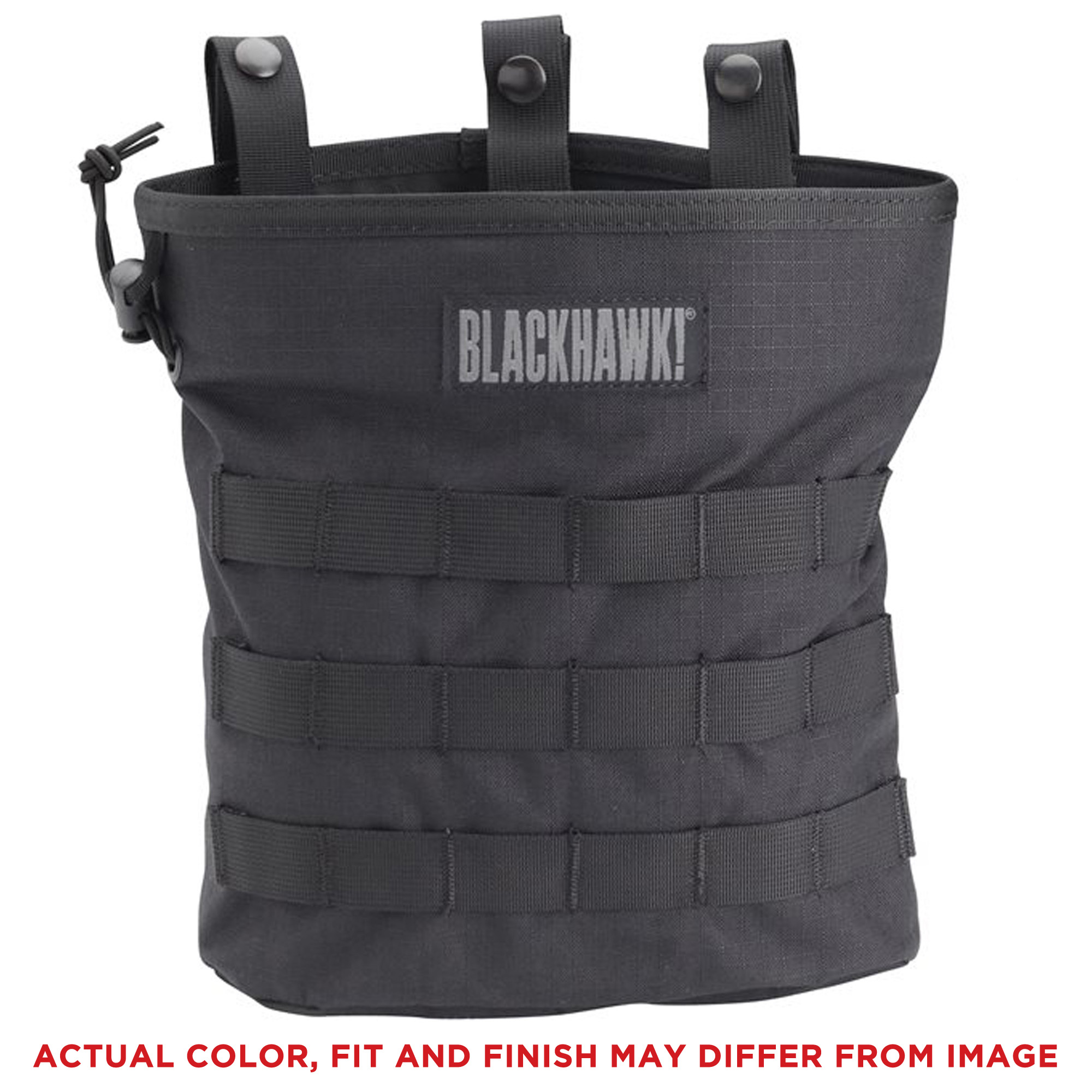 Bh Roll-up Molle Dump Pouch Bk