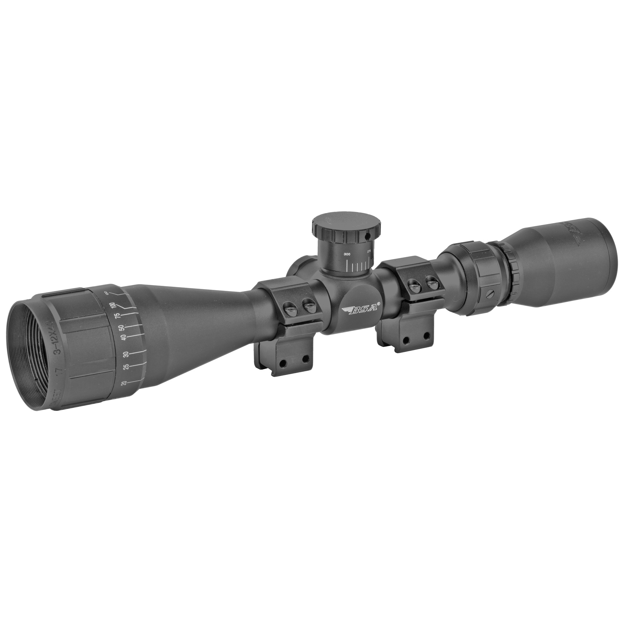 Bsa Sweet 17 3-12x40 30/30 Blk