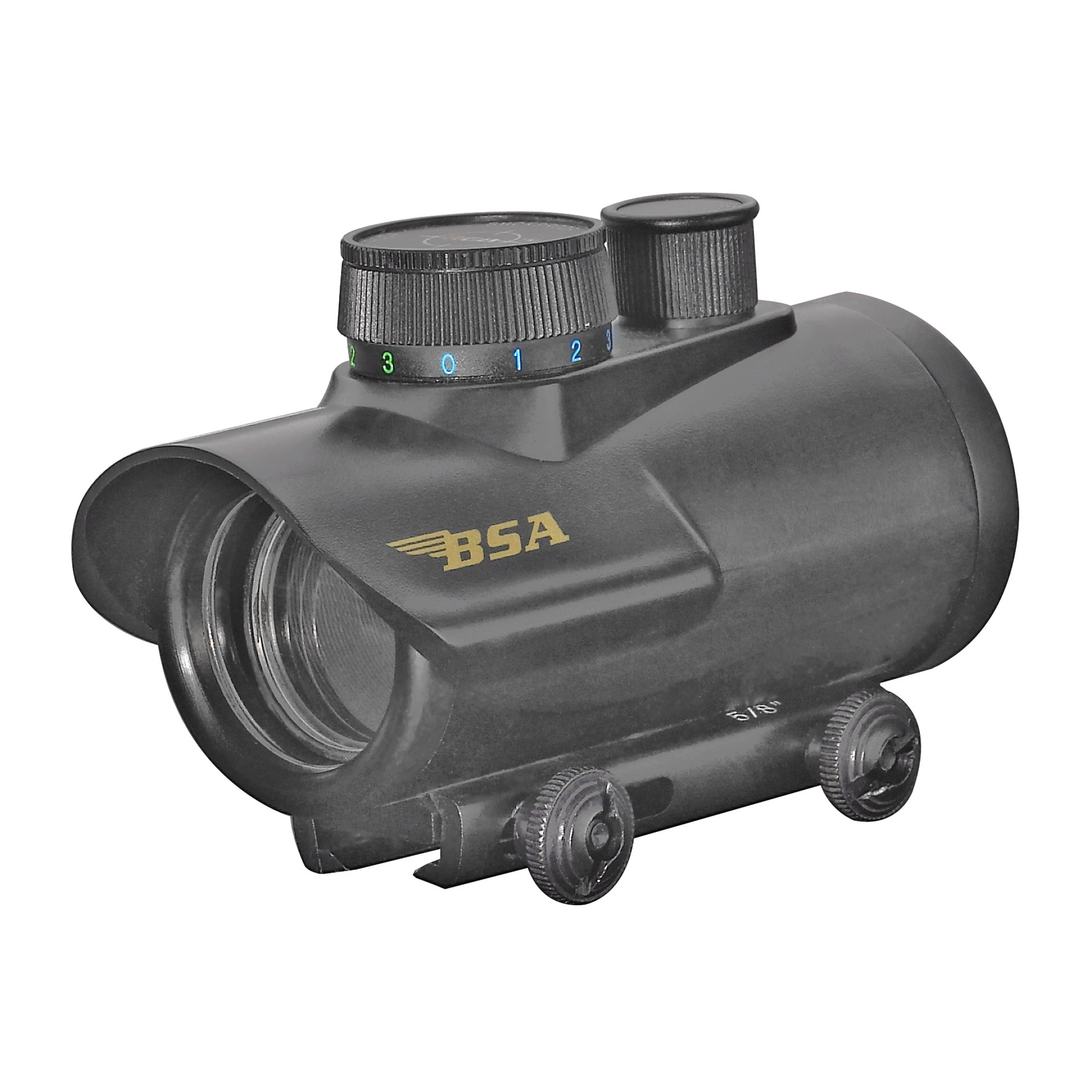 Bsa Ir Dot Rd/gr/bl 30mm Blk