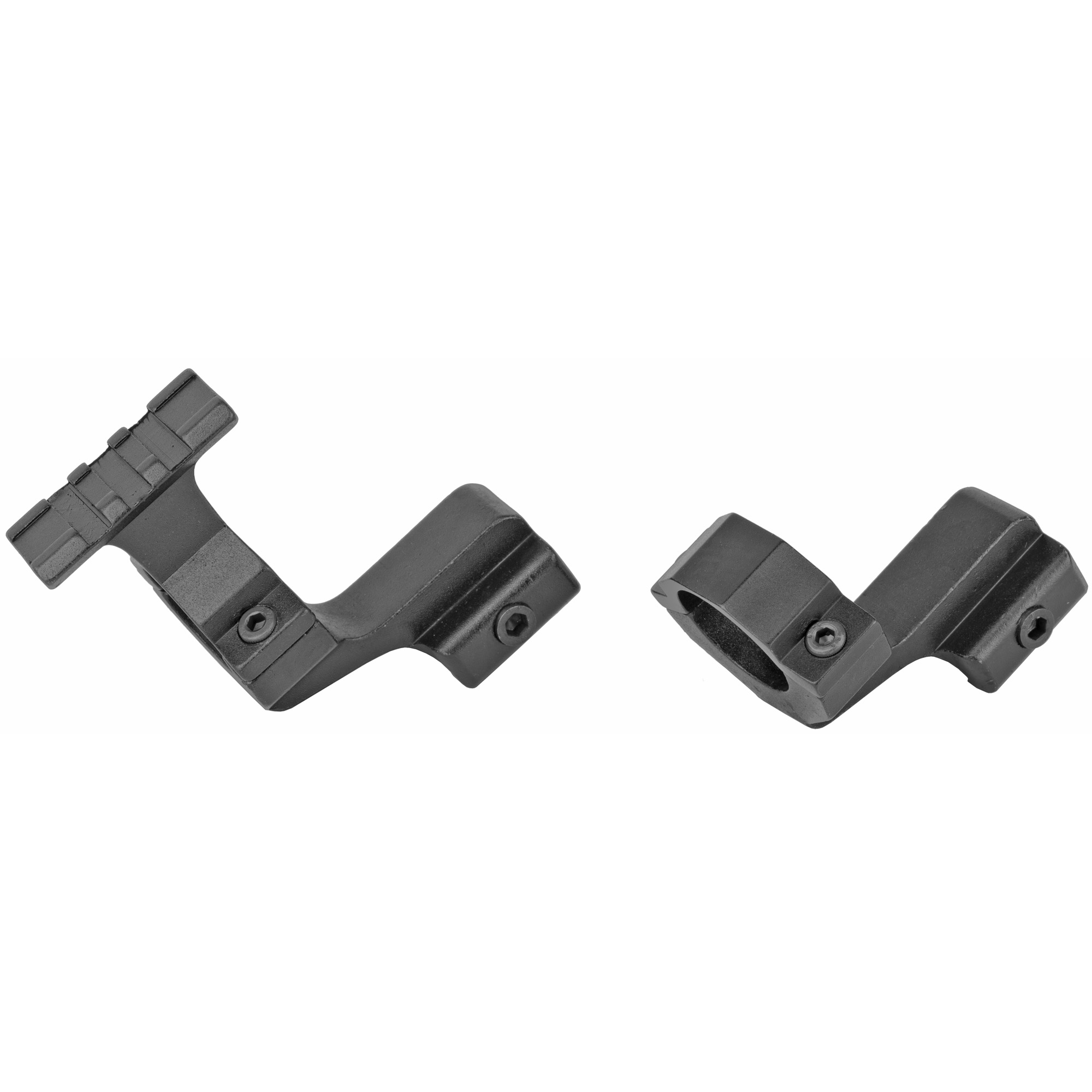 "Bsa 2pc Scope Rail Mnt 1"" Blk"