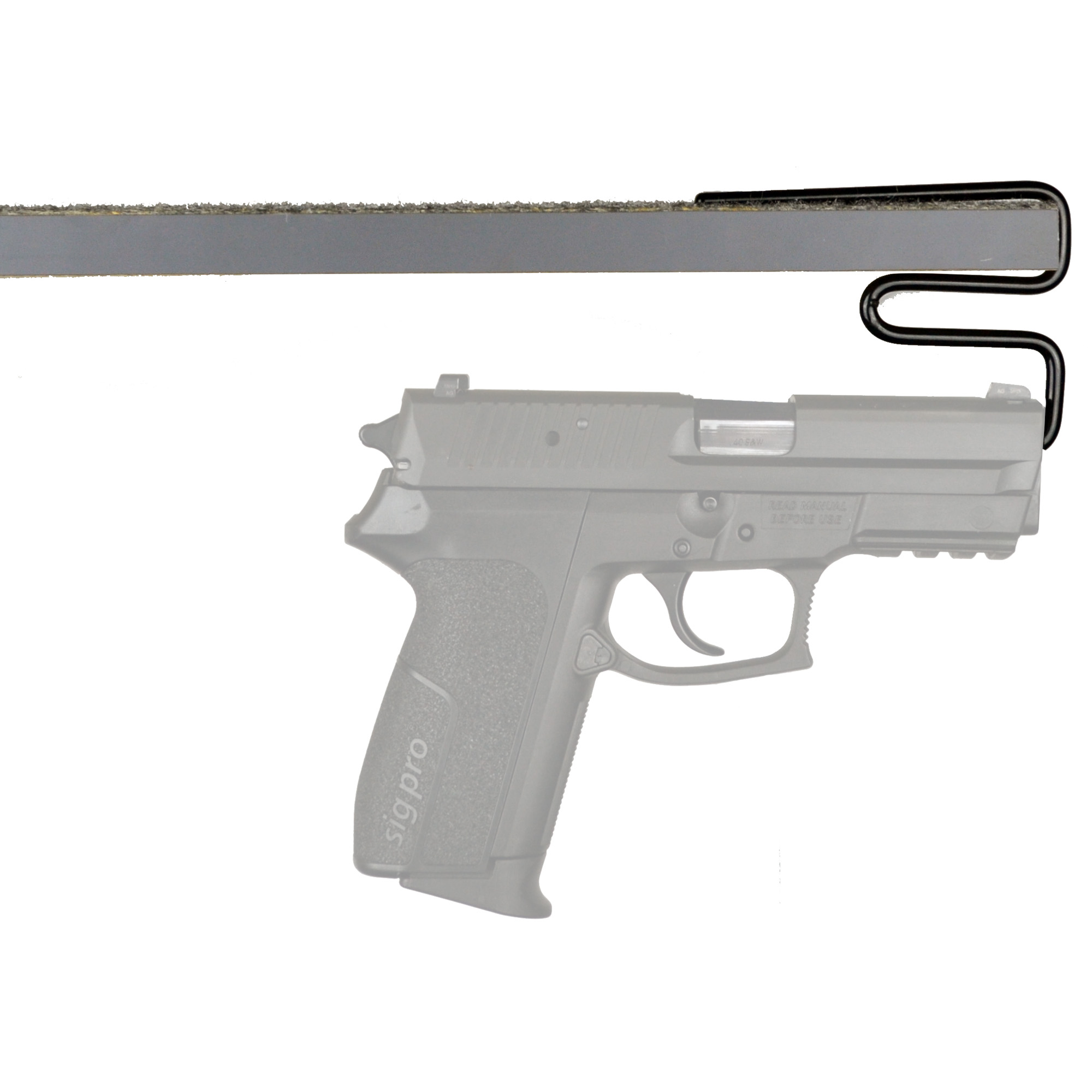 Gss Back Under Handgun Hangers 2pk
