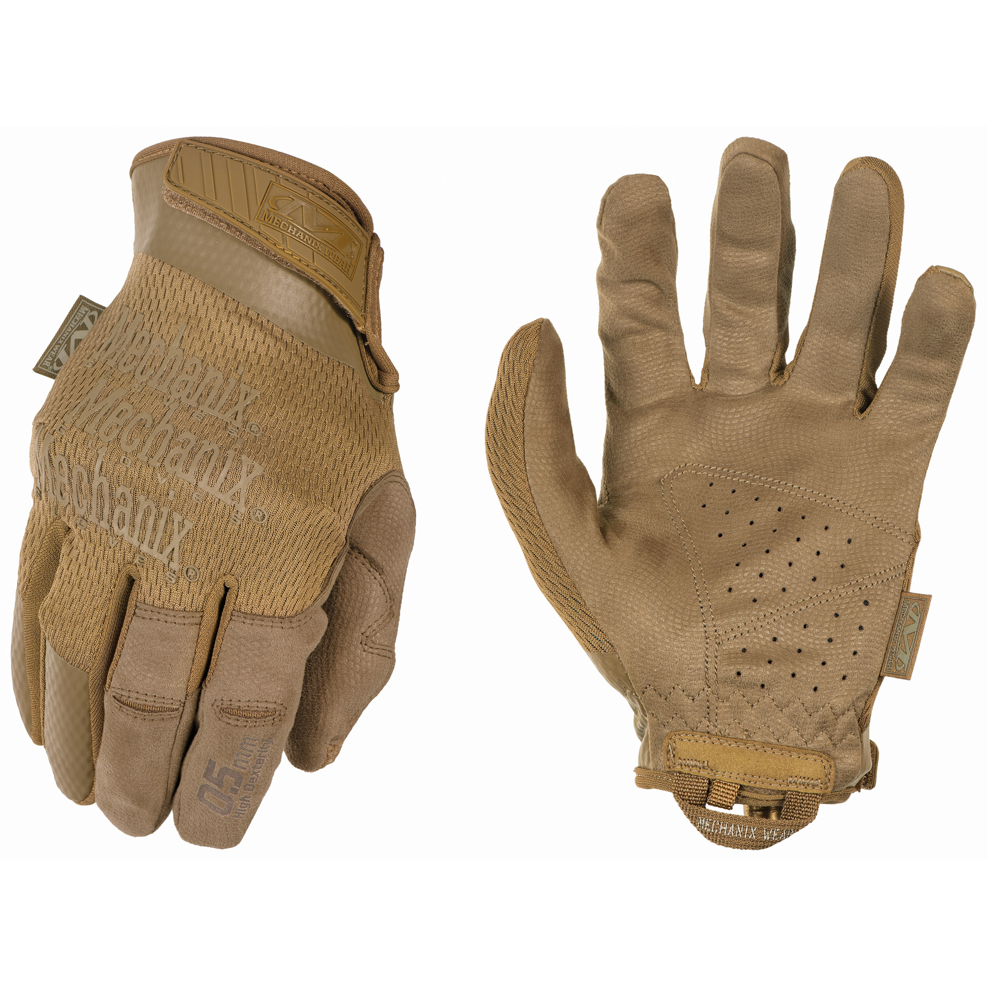 Mechanix Wear Spl 0.5mm Coyote Small