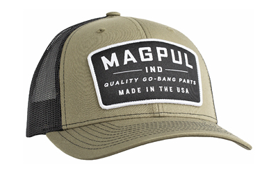 Magpul Industries Magpul Go Bang Trucker Hat Olive/blk