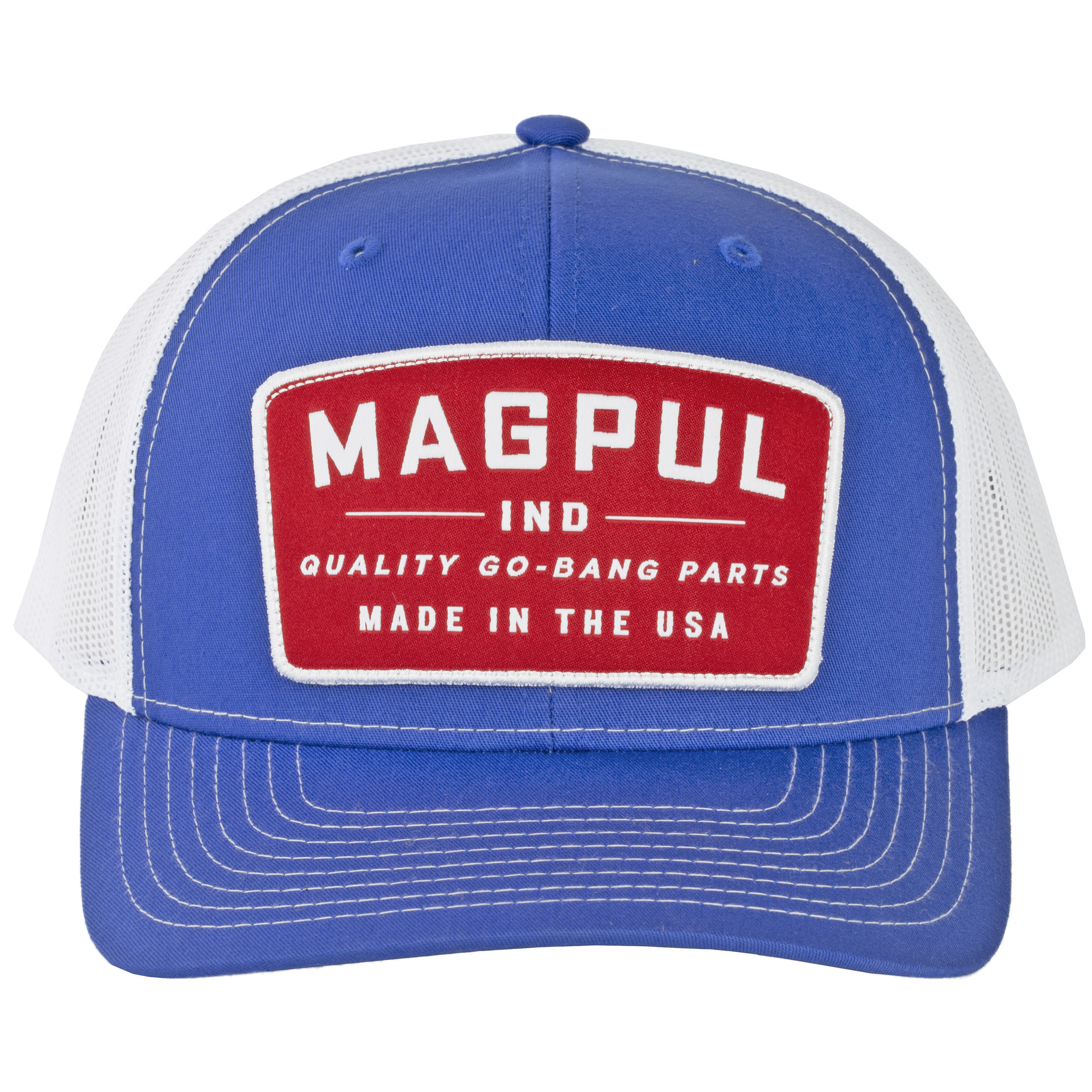 Magpul Go Bang Truckr Hat Royal/whte