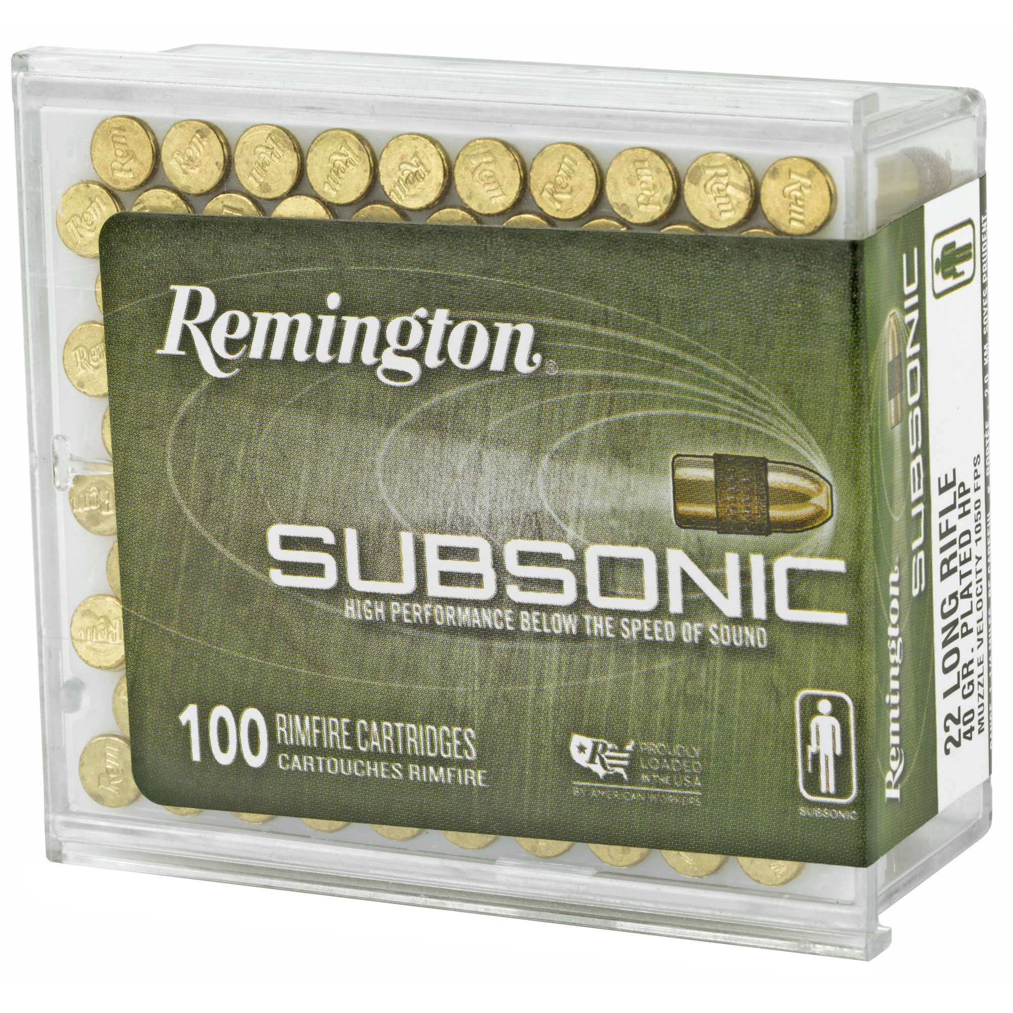 Remington Rem Sub 22lr 40gr Hp 100/5000