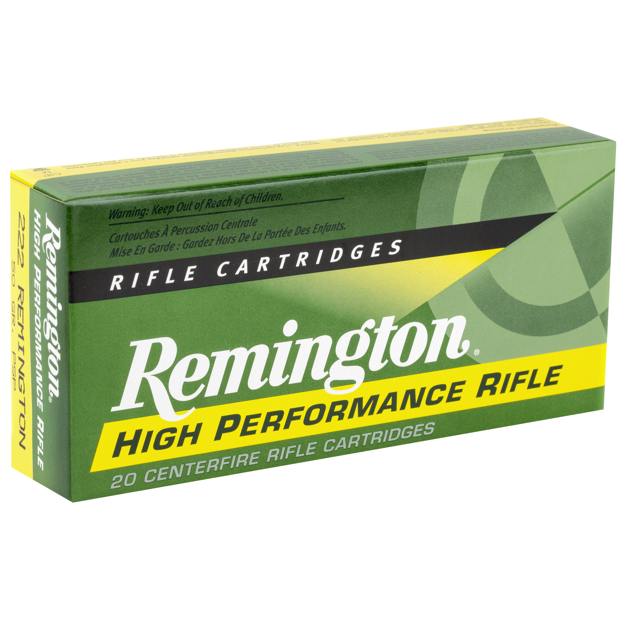Remington Rem 222rem 50gr Psp 20/200
