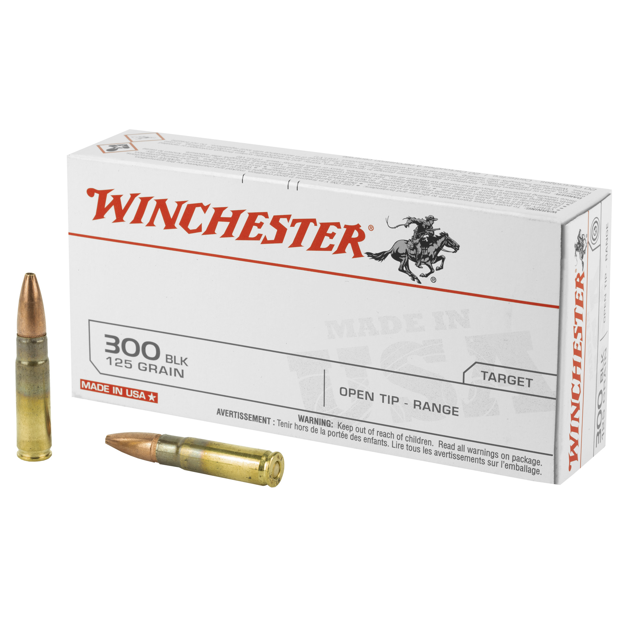 Win Usa 300blk 125gr Ot 20/200