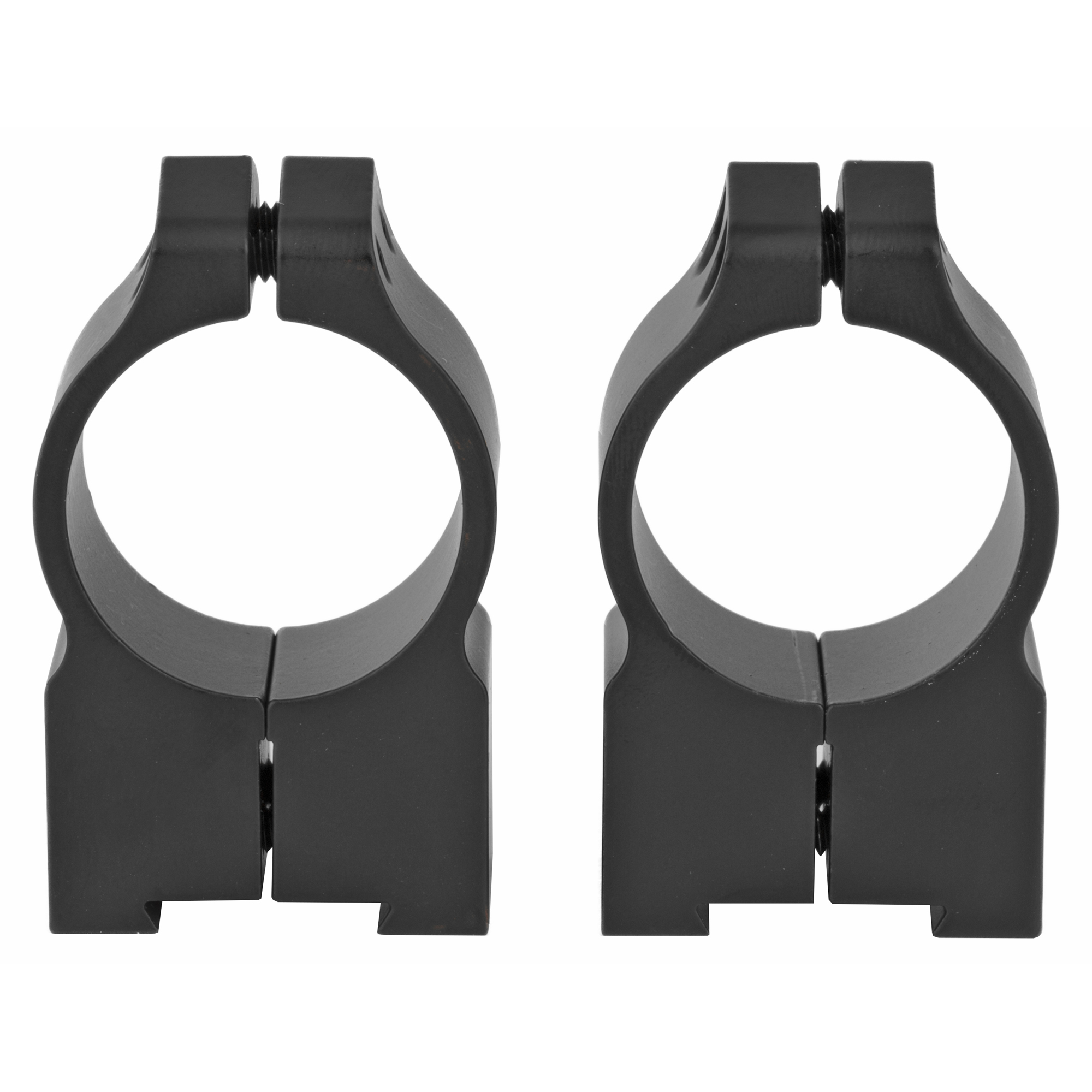 "Warne Cz 527 1"" High Matte Rings"