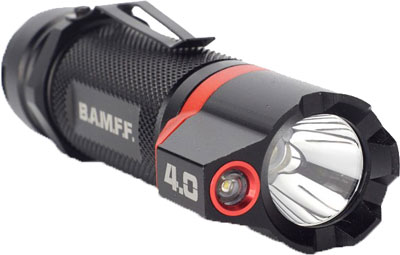 Striker Bamff 4.0 400 Lumens - Dual Cree Led Flshlght W/flood