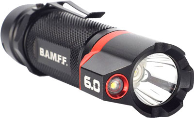 Striker Bamff 6.0 600 Lumens - Dual Cree Led Flshlght W/flood