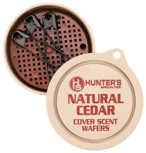 Hunters Specialties Hs Scent Wafers Natural Cedar - Scent 3-pack