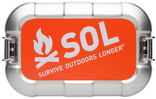 Amk Sol Traverse Survival Kit - W/ Water Purification Tablets