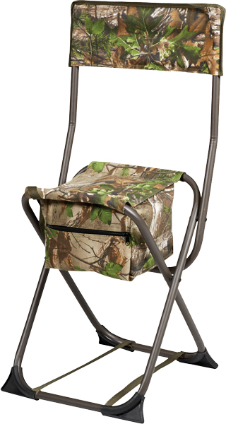 Hs Dove Stool Folding W/back - Realtree Edge