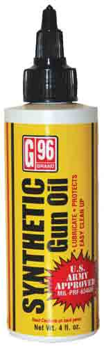 G96 Synthetic Clp Gun Oil - 4oz. Squeeze Bottle
