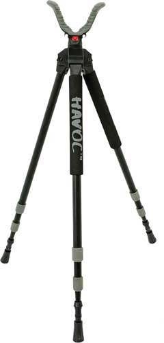 Bog Pod Havoc Shooting Stick - Tripod Black