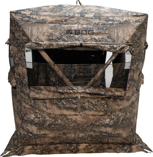 Bog Sitting Height Grnd Blind - Realtree Escape