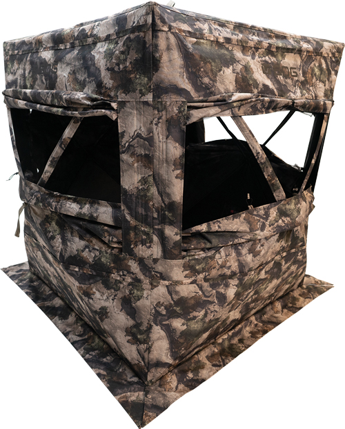 Bog Sitting Height Grnd Blind - Mossy Oak Terra