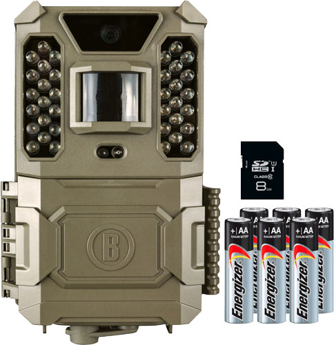 Bushnell Trail Cam Core Prime - 24mp Low Glo Sd Card/batteries