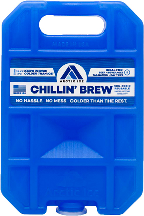 Arctic Ice Chillin Brew Small - .75lb Reusable Refrige Temp
