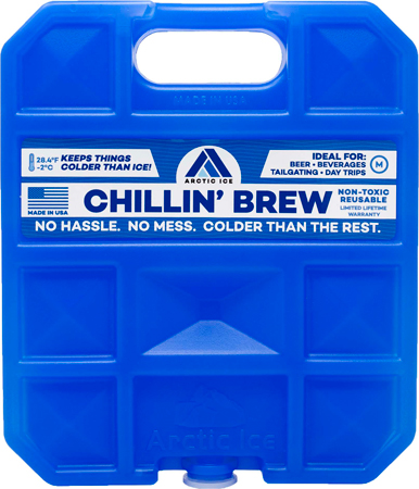 Arctic Ice Chillin Brew Medium - 1.5lb Reusable Refrige Temp