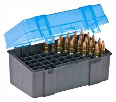 Plano Ammo Box Large Rifle - 50-rnds Flip Top