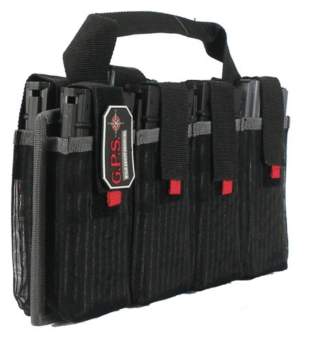 Gps Ar Magazine Tote - Holds 8-ar Style Mags Black