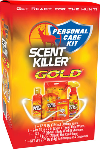 Wildlife Research Wrc Personal Care Combo Kit - Scent Killer Gold