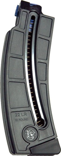 S&w Magazine M&p 15-22 .22lr - 10-rounds Long Magazine Black