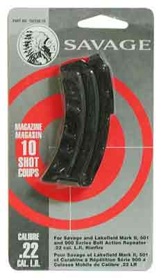 Savage Magazine Mkii Series - .22lr/.17hm2 10-rnd Blued