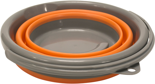 "Ust Flexware Bucket Orange 1.3 - Gallon Capacity 7.75""x10"""