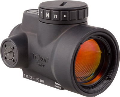 Trijicon Mro 1x25 Adj Red Dot - Sight 2.0 Moa W/o Mount