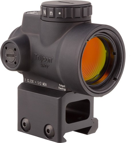 Trijicon Mro 1x25 Adj Red Dot - Sight 2.0 Moa Lower 1/3 Mount