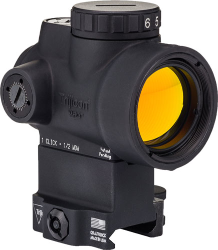 Trijicon Mro 1x25 Adj Grn Dot - 2.0 Moa Lower 1/3 Qr Mount