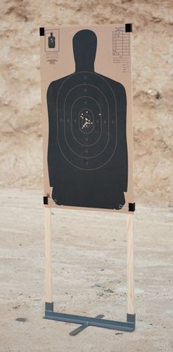 Gps Metal Target Stand Compact - Size 24""