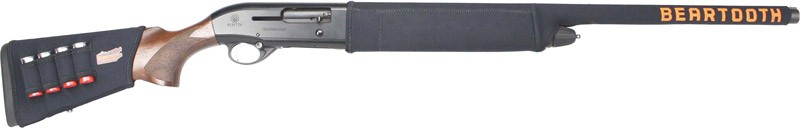 Beartooth Products 2-piece Kit - Cover Shotgun Black W/loops