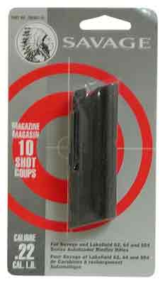 Savage Savage Magazine 64 Series - .22lr 10-rnd Blued