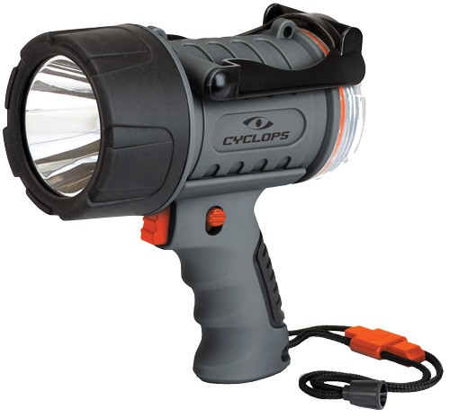 Cyclops Spotlight Rechargeable - Handheld 300lum Led Waterproof