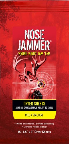 Nose Jammer Dryer Sheets W/ - Nose Jammer Formula