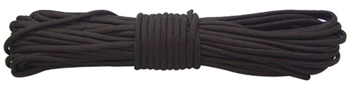 Red Rock 550 Parachute Cord - 100 Feet Black