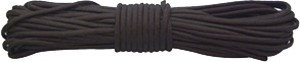 Red Rock 550 Parachute Cord - 50 Feet Black