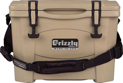 Grizzly Coolers Grizzly G15 - Tan/tan 15 Quart Cooler