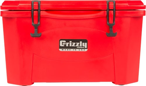 Grizzly Coolers Grizzly G40 - Red/red 40 Quart Cooler