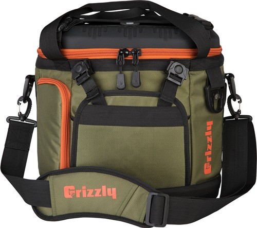 Grizzly Coolers Drifter 20 - Eva Molded Cooler Od Green/org