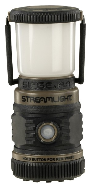Streamlight Siege Aa Battery - Lantern White Led & Red Led