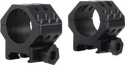 "Weaver Weaver Rings 6-hole Tactical - 1"" Medium Matte .280\"""