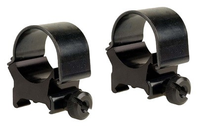 "Weaver Weaver Rings Detachable Top - Mount 1"" High Black .332\"""