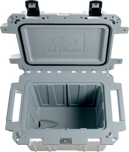 Pelican Coolers Im 50 Quart - Elite White/gray