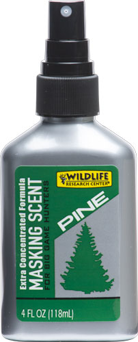 Wildlife Research Wrc Masking Scent Pine X-tra - Concentrated 4fl Oz Bottle