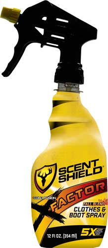 Scent Shield Scent Elimination - Spray 5x-factor 12oz Fall Blnd